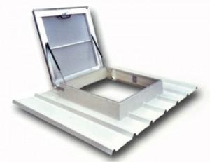 lanterneau accès toiture exutoire trappe accès toiture