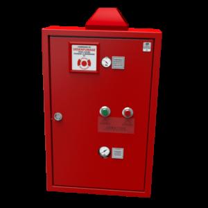 coffret de désenfumage pneumatique avec aération - co² + aération - désenfumage atelier de stockage ou bâtiment industriel