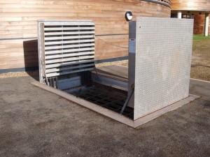 trappes d'accès sous-sol vérins a compression trappes silo trappes à carreler trappes coupe feu