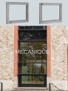 désenfumage naturel en façade châssis de désenfumage en façade soufflets capotés ouvrants mécanique